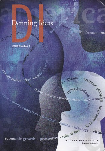 Image for DI: Defining Ideas (2010, Number 1)
