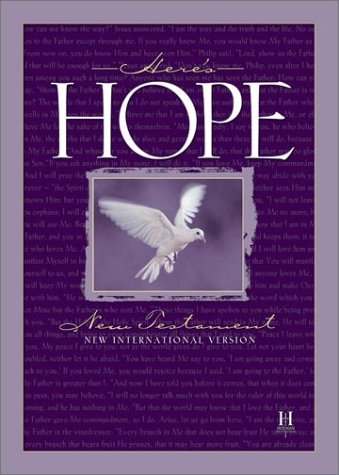 Image for Here's Hope Bible: New International Version, New Testament (International Version)