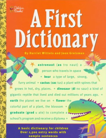 Image for A First Dictionary