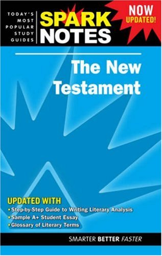 Image for New Testament, The (Spark Notes Literature Guide)
